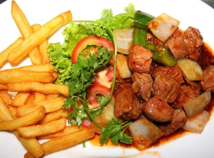 Món thịt bò xào khoai tây bổ dưỡng cho cả nhà