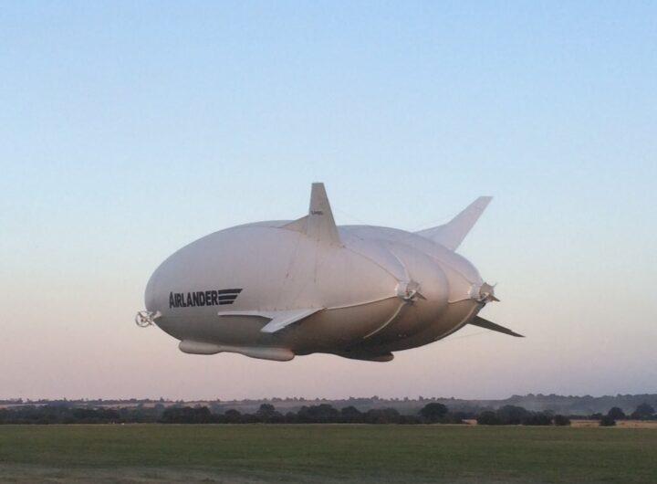 Ra mắt khinh khí cầu mới, tương lai có thể thay thế máy bay